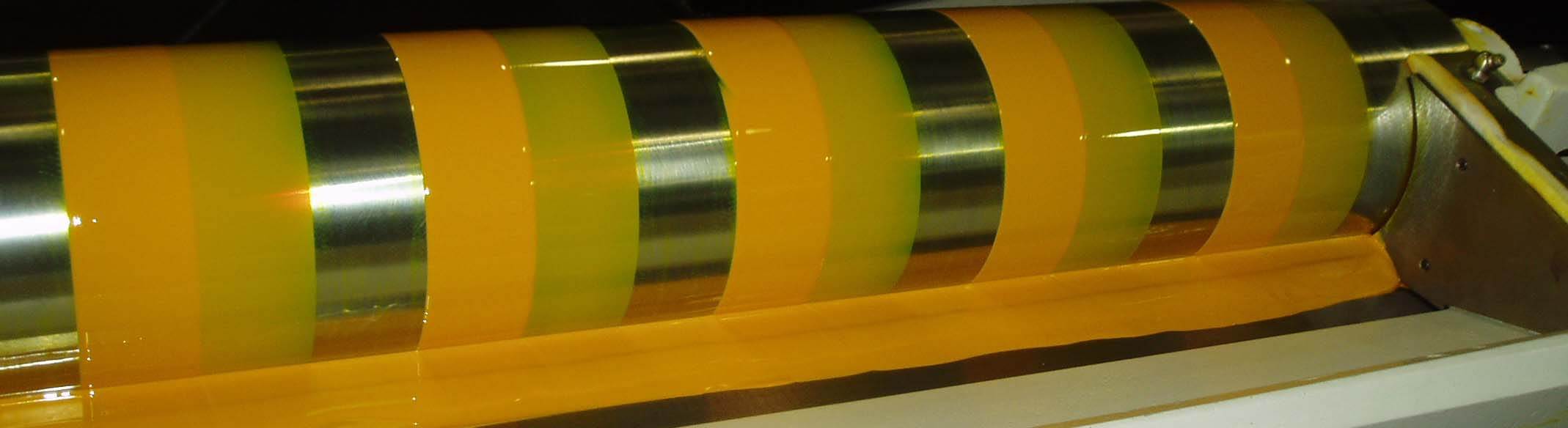 Yellow Ink Roller